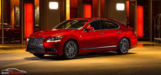 El Lexus LS 600h mejora su apariencia