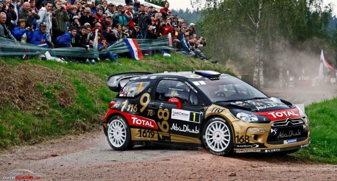 Loeb se ve obligado a abandonar tras un aparatoso accidente