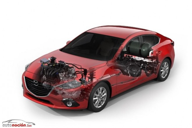 Nuevas motorizaciones para el Mazda 3 en el Salón de Tokio