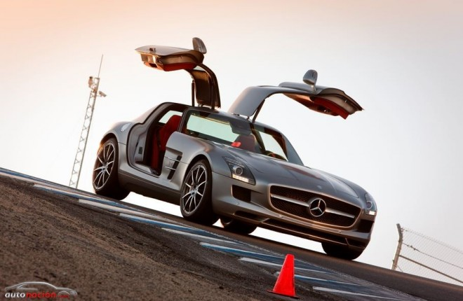 El Mercedes-Benz SLS AMG abandonará la cadena de producción en 2014