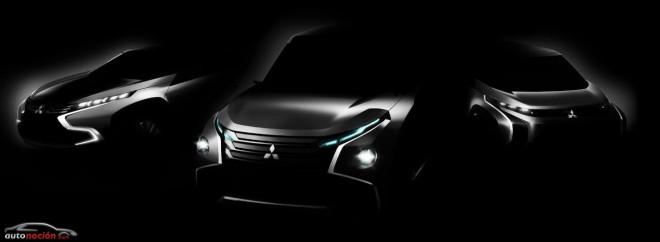 Las tres novedades mundiales de  Mitsubishi