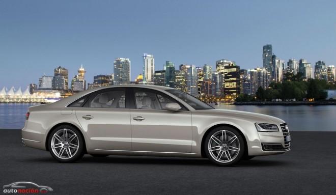 Nuevos motores diésel para el Audi A8: entre la eficiencia y la inmensidad