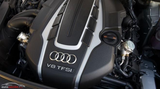 Que rujan los motores gasolina del nuevo Audi A8