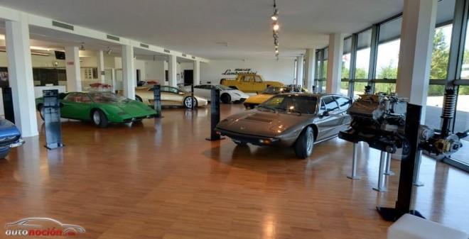 Visita el Museo Lamborghini desde tu casa gracias a Google