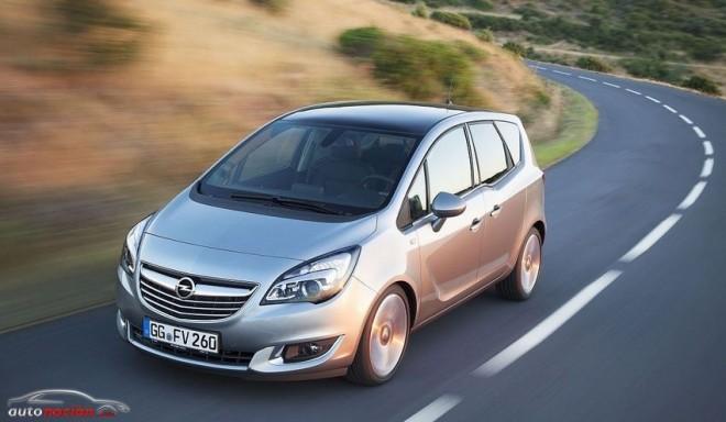 Opel renueva la gama de motores del Meriva