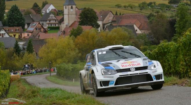 WRC: Ogier vence en Francia con Dani Sordo segundo