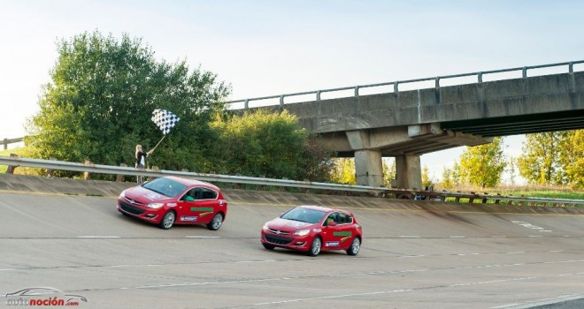 ¿Dos Opel Astra 2.0 CDTI en Millbrook durante 24 horas?