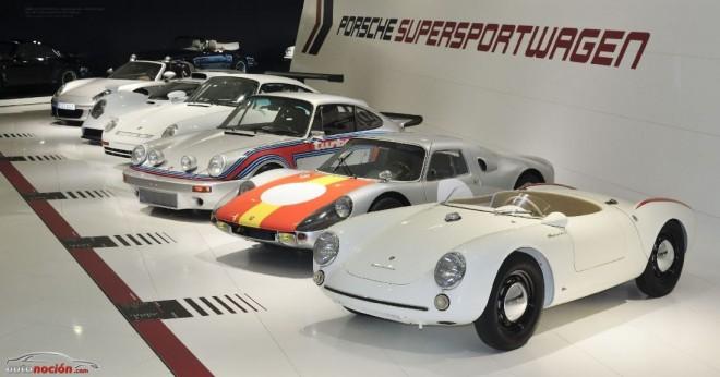 Un recorrido a los 60 años de superdeportivos Porsche