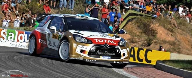 Dani Sordo imparable en el Rally de Cataluña