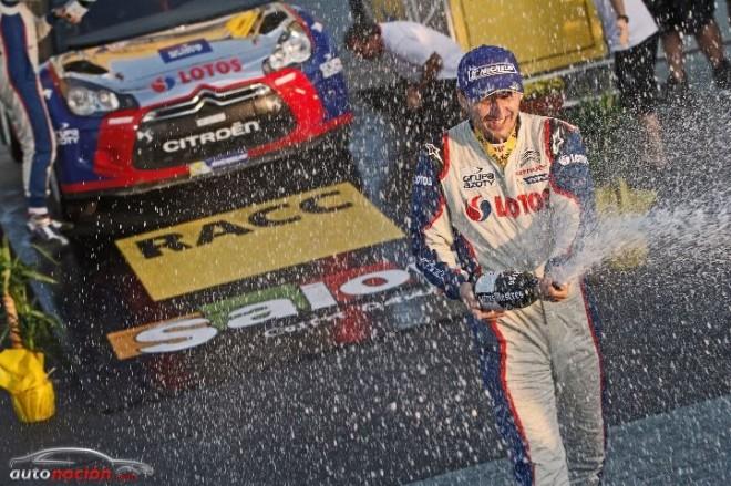 Robert Kubica se convierte en campeón WRC2