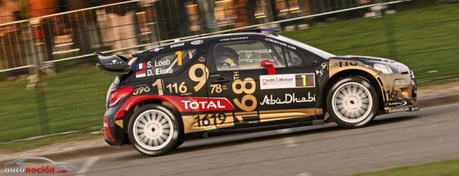 La actuación de Dani Sordo y Loeb en el Rally de Francia