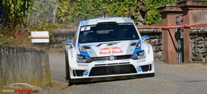Volkswagen terceros, quintos y séptimos en Francia