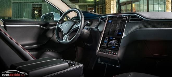Así es el increible interfaz Hombre-Máquina del Tesla Model S