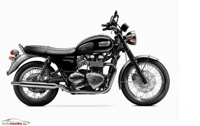 Triumph desvela la Bonneville T100 Special Edition 2014