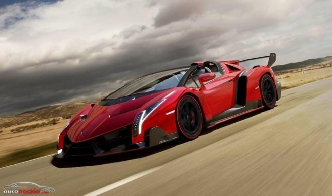 Lamborghini Veneno Roadster: 9 unidades a 3.3 millones de euros cada una
