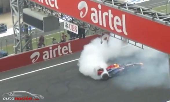La FIA multa a Vettel con 25.000 euros por la celebración de su cuarto título con donuts