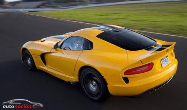 La escasa demanda obliga a Chrysler a reducir la fabricación del Viper SRT
