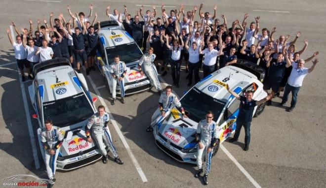 Volkswagen ya se proclama Campeón del Mundo de Rallyes