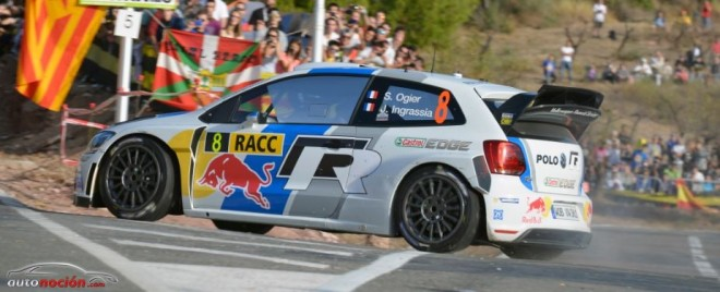 Volkswagen en el Rally de España por delante de Citroën y Ford