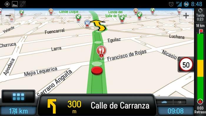 Prueba Copilot Live Premium: El GPS clásico en tu móvil