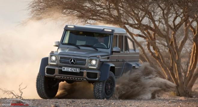 El Mercedes-Benz G63 AMG 6×6 blindado costará 961.000 euros