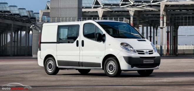La producción de la Nissan Primastar requiere un turno de noche y 308 personas más
