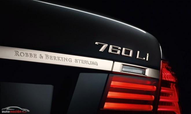 ¿Un BMW de plata?: 760Li Sterling ROBBE & BERKING
