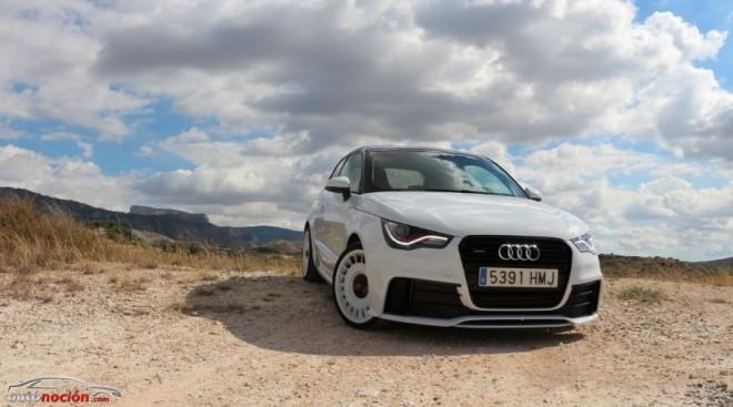 Prueba Audi A1 quattro 2.0 TFSI de 256 cv: Un chiquitín limitado a 333 unidades