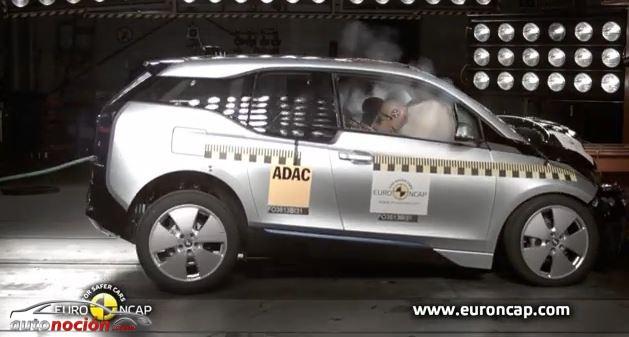 "El BMW i3 ""se estrella"" en la Euro NCAP: 4 estrellas llenas de polémica"