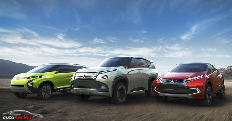 Los tres Concept Cars que nos presentará Mitsubishi en Tokio: Dos SUV y un monovolumen