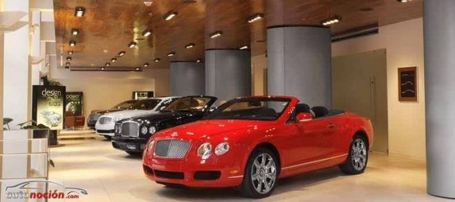 Roban cinco coches de lujo del concesionario Bentley más grande de Europa