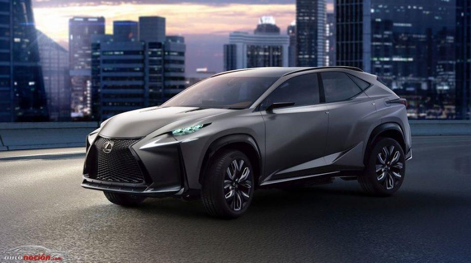 Más detalles del Lexus LF-NX