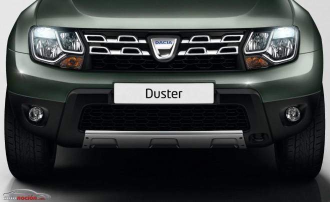 Sutiles cambios para el Dacia Duster