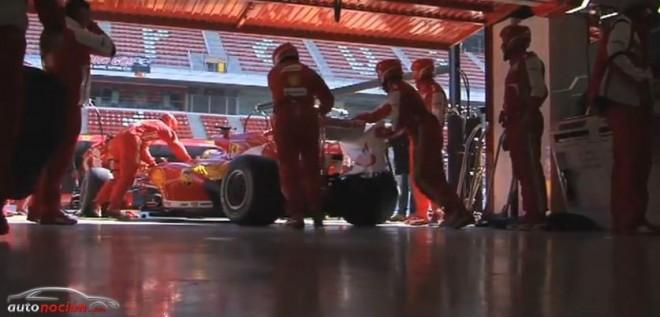 Las primeras impresiones del Equipo Ferrari para USA