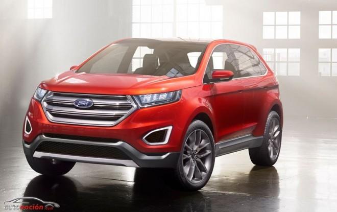 Presentado en L.A. el Ford Edge Concept, un SUV de gama alta