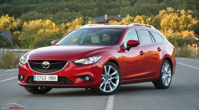 Prueba Mazda6 Wagon 2.2 l. 150 cv AT con el acabado Luxury