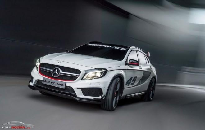 El Mercedes-Benz GLA 45 AMG ya no es un secreto: Cruce de razas