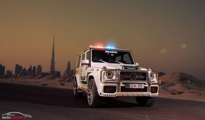 La Policía de Dubai incorpora un BRABUS 700 WIDESTAR a su flota