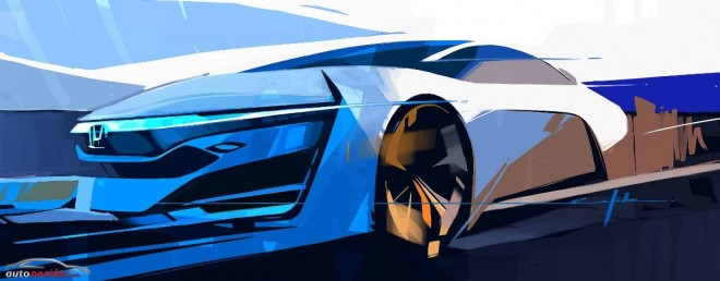 Honda presentará en Los Ángeles el FCEV Concept
