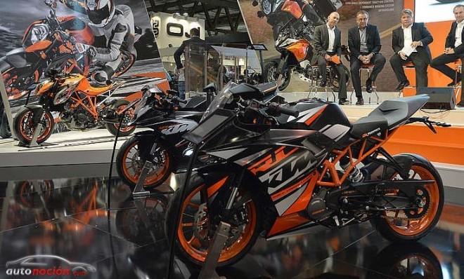 KTM presenta seis novedades para el 2014