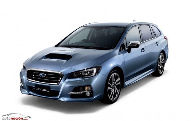 Algunos detalles más del Subaru Levorg: Legacy, Revolution y Touring