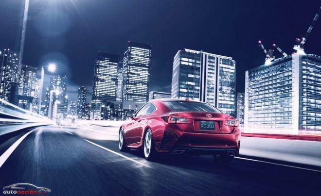 Así es el Lexus RC: El nuevo coupé nipón que la marca presentará en Tokio
