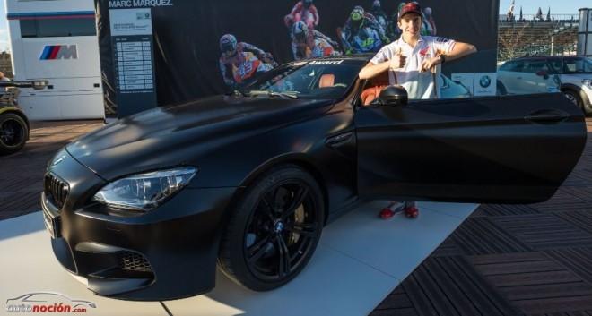 A Marc Márquez le regalan un BMW M6 Coupé