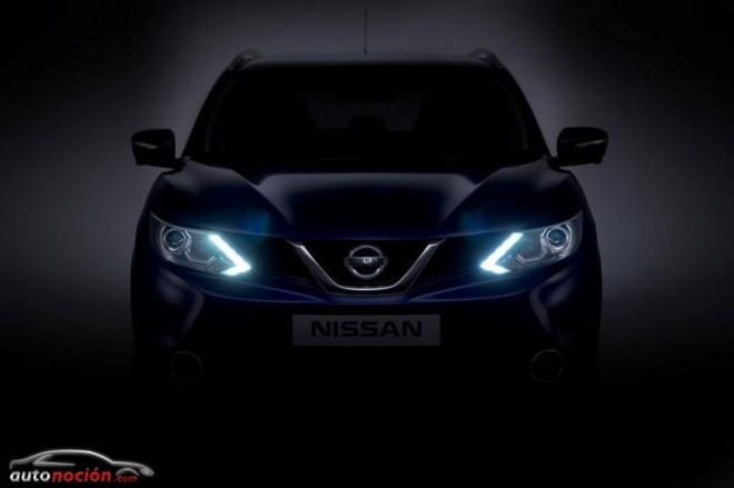 Nissan revela el frontal de la nueva generación del Qashqai