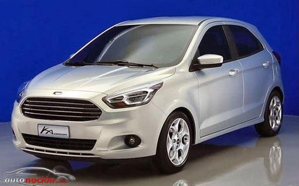 Ford no acabará con el Ka: Presentado el Concept Ka en Brasil