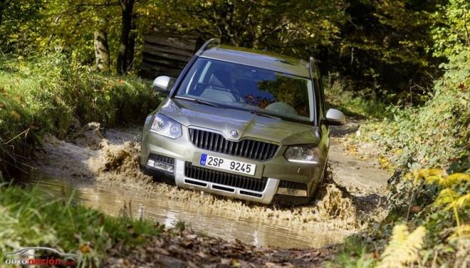 El Škoda Yeti Outdoor se lanzará al mercado español en enero de 2014