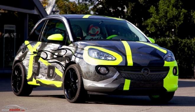 ¿Cómo es un Opel Adam diseñado por Valentino Rossi?