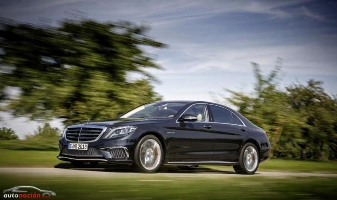 Mercedes-Benz S65 AMG: Un V12 de 6.0 litros biturbo que desarrolla 630 cv y 1.000 Nm