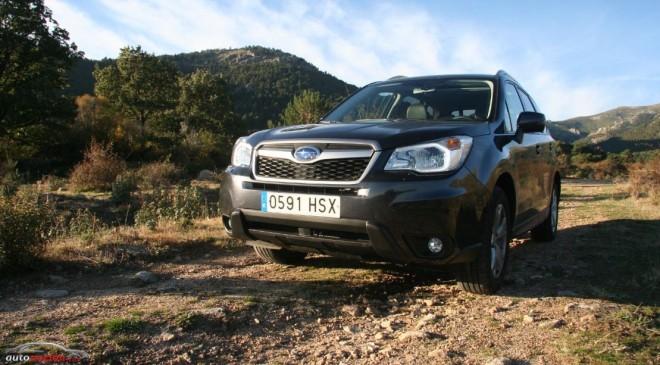 Prueba Subaru Forester 2.0D Boxer Executive: Del desierto a la oficina.