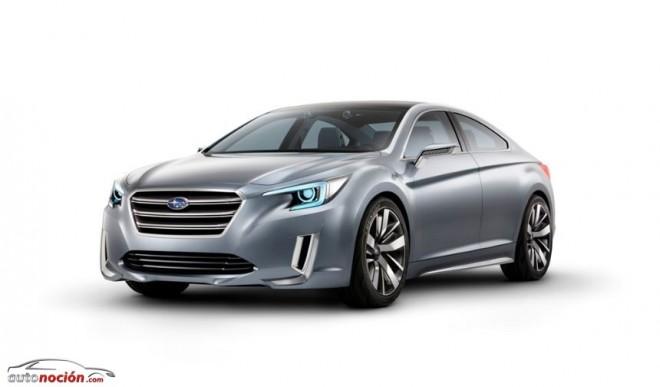 Así es el Subaru Legacy Concept que debutará en Los Ángeles